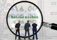 Báo cáo tình hình tài chính cho doanh nghiệp nhỏ và vừa