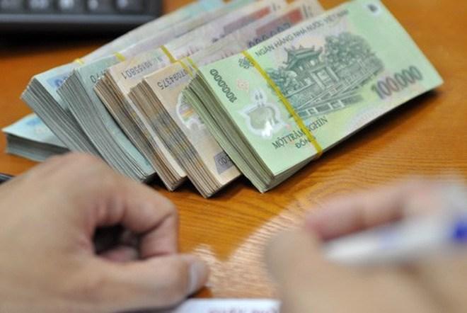 giấy biên nhận tiền mặt