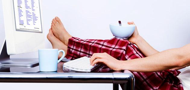 làm việc tại nhà