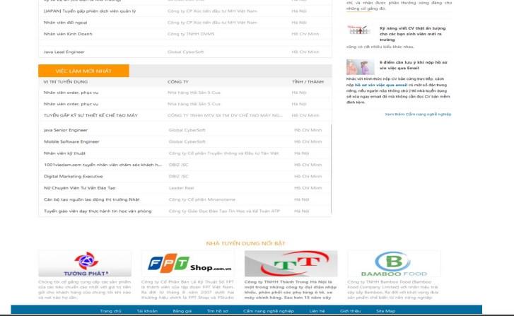 Những cách tìm việc hiệu quả trên 1001vieclam.com
