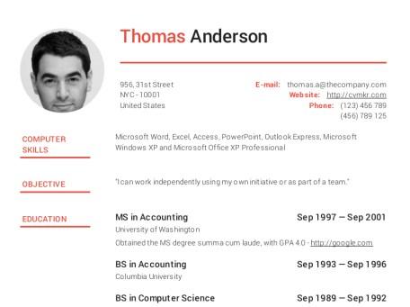 Công cụ tạo CV chuyên nghiệp