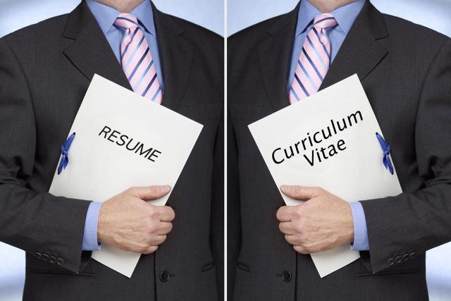 Phân biệt CV và Resume