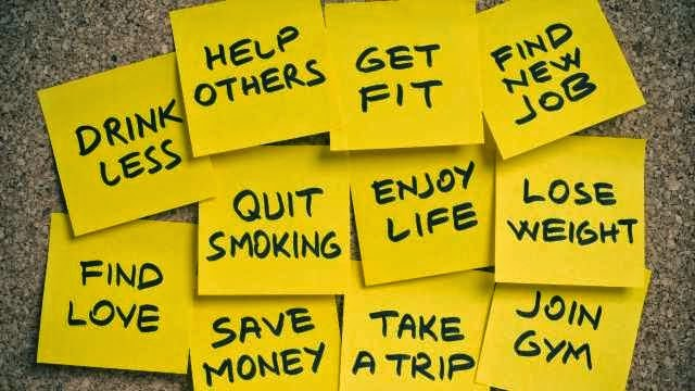 bí quyết lập mục tiêu cho năm mới