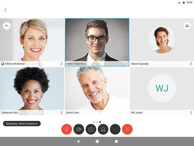 Ứng dụng Cisco Webex Meetings